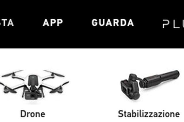 画像1: コンシューマー向けウェアブルカメラの代名詞である「GoPro」シリーズですが、今月ドローンを新しくリリースことでユーザーの関心が高まっていますが、ヨーロッパのウェブサイトにて、「Karma」のサムネイルがうっかりフライング公開されているようです!おまけにHero 5やスタビライザーも? The post GoProのドローン「Karma」が公式サイトにてフライング掲載?Hero 5やスタビライザーも見えます appeared first on Spotry.me. spotry.me