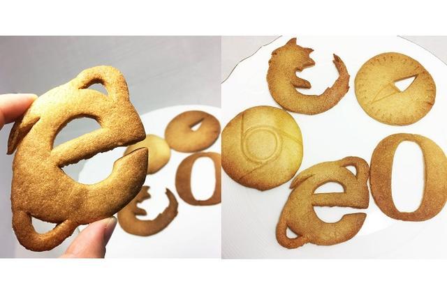 画像1: ウェブブラウザーのアイコンの形をしたクッキーに注目が集まっています。 ブラウザーのCookie? この画像を投稿しているのは、たばね(@_tabane)さん。 これは、たばねさんが作った「ブラウザーのCookie」です。 ブラウザのcookieです pic.twitter.com/KhsmmE1soZ — たばね (@_tabane) 2016年9月19日 ブラウザーは、インターネット上のウェブサイトなどを閲覧するときに利用するソフトウエアのこと。 ブラウザー内には「Cookie」といわれる、サイトの運営者がブラウザーを通じて、ユーザーのコンピューターに一時的にデータを書き込んで保存できる仕組みがあります。 どうやら、その仕組みの「 [...] irorio.jp