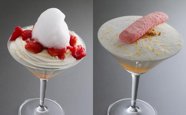 画像: ショートケーキがカクテルに!アンリ・シャルパンティエの新感覚デザートが気になる