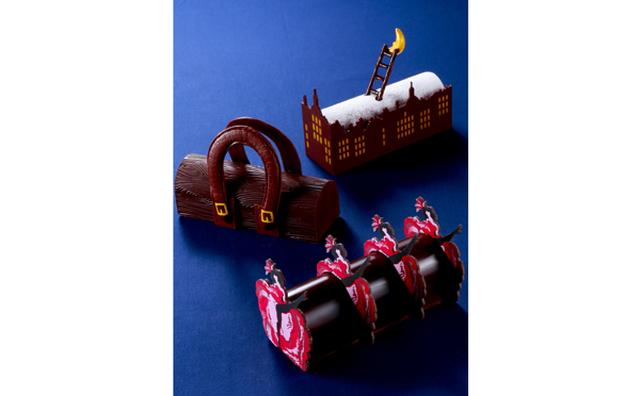 画像: まるでオブジェ!ジャン=ポール・エヴァンのクリスマス ケーキは飾りたくなる美しさ