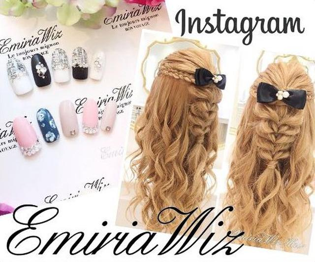 画像: ヘアセット無料❤ネイルもできる❤アパレルブランド『EmiriaWiz』の店舗instagramがかわいい!