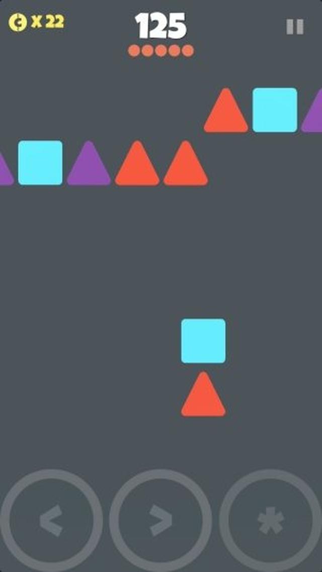 画像: 色と形と位置関係を瞬時に判断!図形認識シューティング『Paired!』が中毒性抜群のおもしろさ♪