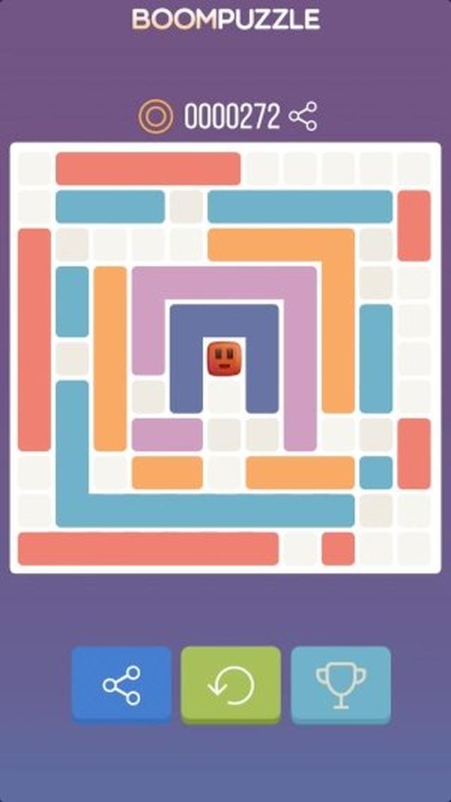 画像: 制限時間なしでゆったりプレイ!ちょっと変わったテトリス風ブロックパズル『BOOM PUZZLE』