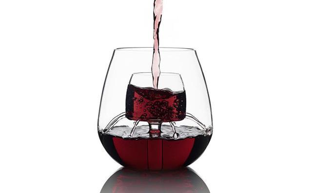 画像: 一瞬でワインがまろやかに!デカンタいらずのグラスが優秀すぎる