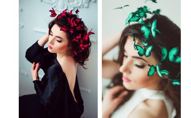 画像: 頭の上に蝶々がひらひら♪ハンドメイドのヘアアクセサリーが可愛い