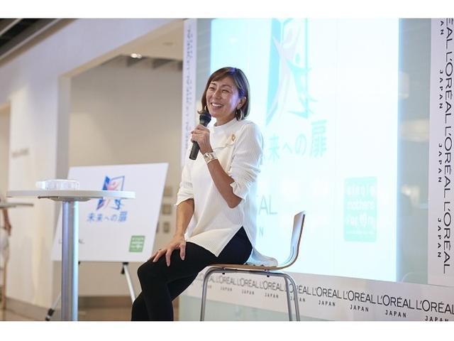 画像: シンママのキャリアを支援!『未来への扉』開講式にRIKACO登場