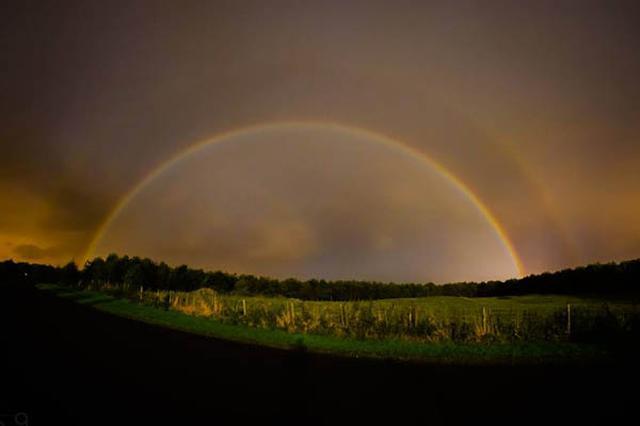 画像1: 雨上がりの空にあらわれる虹は「レインボー」。 では、「ムーンボー」というのをご存じだろうか?「ムーン」とは当然「月」のこと。 そう、夜、月の光に照らされて輝く虹を「ムーンボー」(月虹)という。 「そんなの見たことも聞いたこともない」という方がいても無理はない。普通の虹だってそう簡単には見られないが、ムーンボーは更に珍しい現象で、主にハワイなどで見られるとされ、「ムーンボーを見た人は幸せになれる」とも言い伝えられている。 そうそう見られるものではないからこそ、そんな言い伝えも生まれるのだろう。 しかし、幸運にもムーンボーを目撃し、カメラにおさめた人物が現れた。 その写真がこちら▼ BBCが伝えるところによると、これは英国人写真家、Be [...] irorio.jp