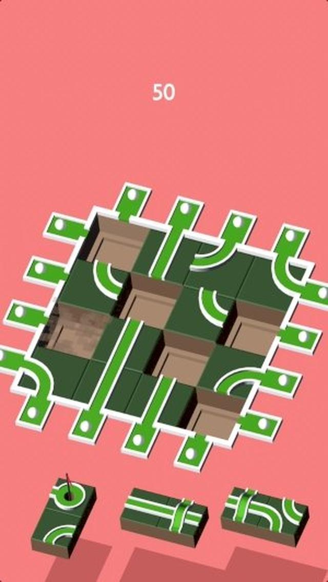 画像: じっくり思考するパズルが好きな方にオススメ!パターゴルフ風のコネクトパズル『Putthole』
