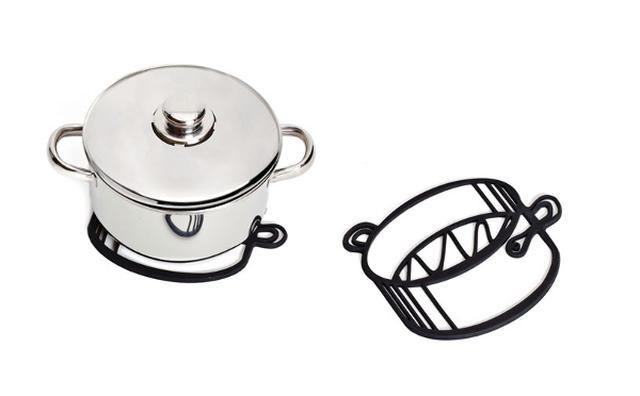 画像: これは欲しい!どこからどう見てもイラストにしか見えない「鍋敷き」がキュート