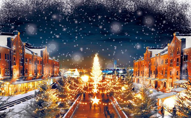 画像: 横浜赤レンガ倉庫でクリスマスマーケットが開催☆ドイツの雪景色を再現した会場がロマンチック