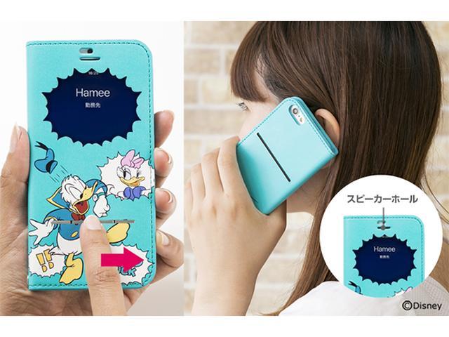 画像: ディズニーデザインのiPhone7窓付きケースが発売