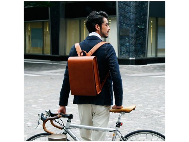 画像: マチ幅10ミリ増!土屋鞄のワイドモデル「OTONA RANDSEL」登場