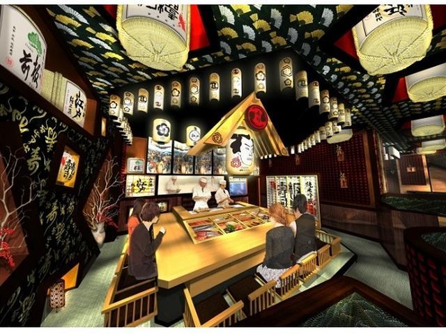 画像: 江戸にタイムスリップ!?劇場型「板前寿司 江戸」開店