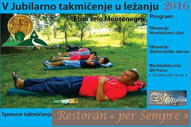 画像1: 欧州南東の小国モンテネグロで、5年前から「怠け者選手権大会」が開催されている。 食事もトイレもすべて寝転んだ状態 国内北部のリゾート風の民族村で、2012年から続いている「怠け者選手権大会」。 ルールはシンプル:食事や読書、スマホ、何をやってもいいが、絶対に自分の寝床を離れないこと。 トイレさえ寝転がったままできるように工夫しなくてはならない。 ゴロゴロしながら何時間耐えられるかを競い合う。 支給されたマットレスを離れた瞬間に失格となる。 世界記録37時間 В Черногории пройдет чемпионат по лени. https://t.co/x3lLJbnZpf. pic.twitter.com/V6Ak3sm9 [...] irorio.jp