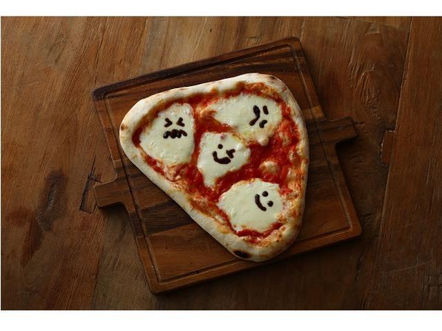 画像: 仮装来店もしくはジャンケン勝者にゴーストピザをプレゼント!