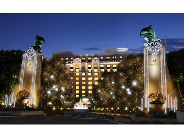 画像: 総数約10万球!ホテルオークラ東京ベイイルミ点灯開始