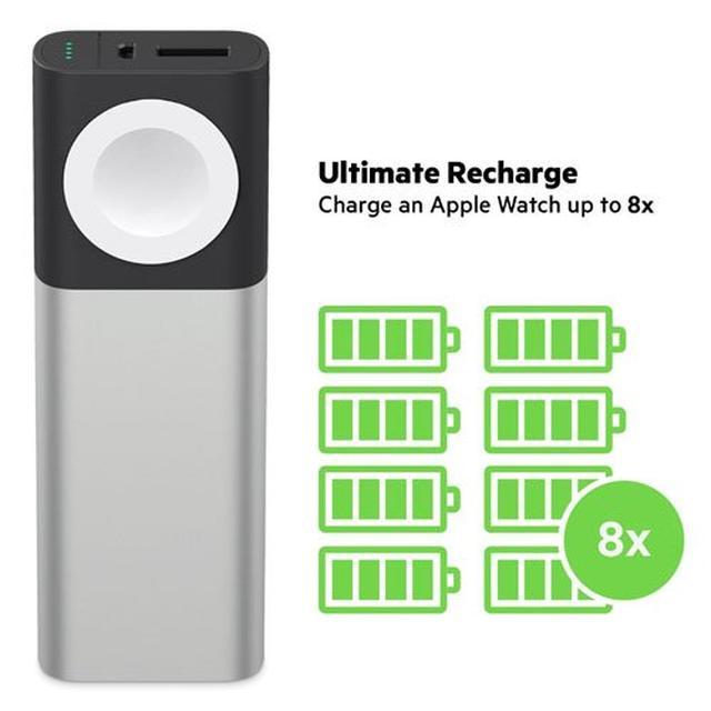 画像: いっしょに充電!『AppleWatch』と『iPhone』の両方が充電できるモバイルバッテリー