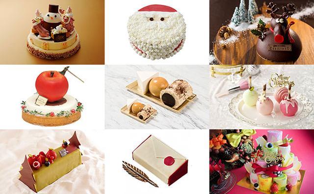 画像: 女子会にぴったり♡乙女ゴコロをくすぐるフォトジェニックなクリスマスケーキ10選