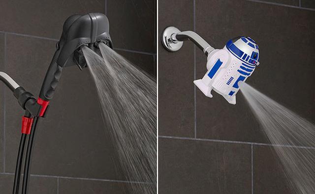 画像: 『スター・ウォーズ』ファン必見☆ダースベイダー&R2-D2のシャワーヘッドがインパクト大!