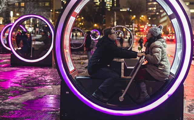 画像: おとぎ話がクルクル回る♪夢溢れるインスタレーションがモントリオールで人気