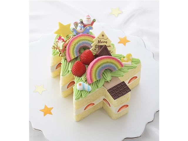 画像: 夢いっぱいのイラストが本物のクリスマスケーキになった!