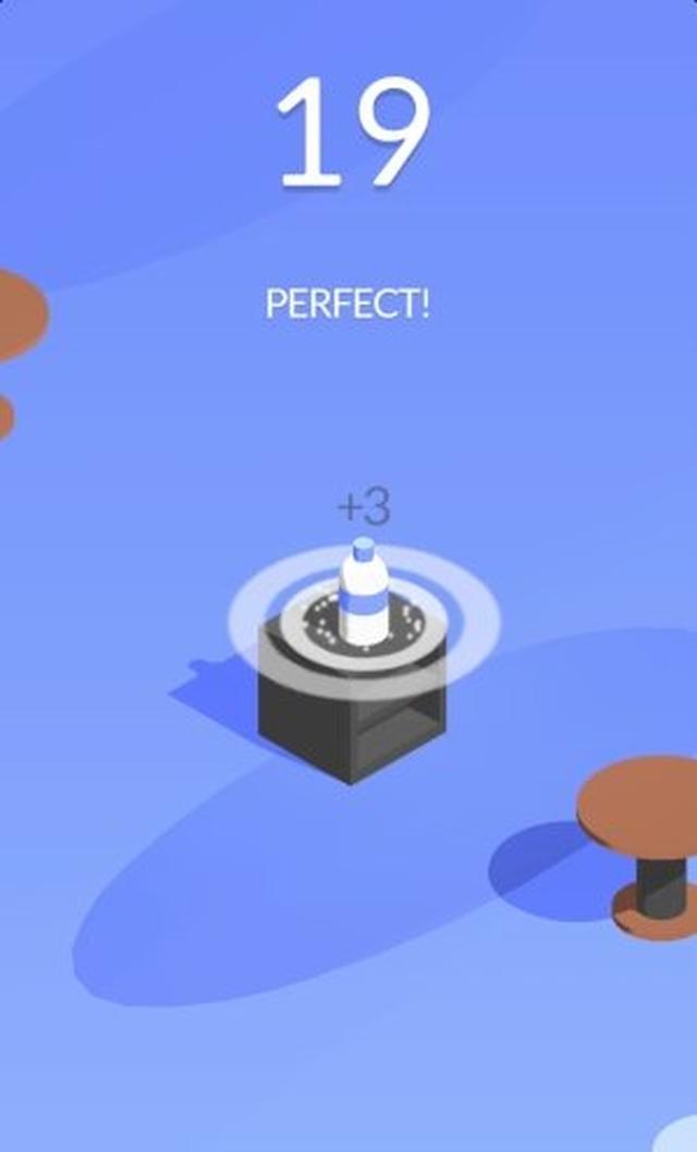 画像: 人目を気にせずにこっそりボトルフリップが楽しめちゃう♪ Ketchappの新作カジュアルアクション『Bottle Flip!』