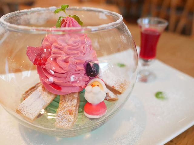画像: 1日5食限定!スノードームモチーフのデザートが可愛い!!