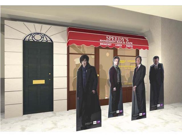画像: 「シャーロック」ファン馴染みのカフェが渋谷にお目見え!?