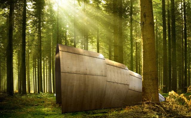 画像: グランピングに最適♪『ナウシカ』のオームみたいな木製テントがオシャレ