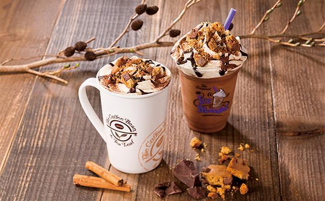 画像: シナモンのスパイシーな香りにそそられる♡コーヒービーンの冬季限定チョコドリンクがおいしそう!