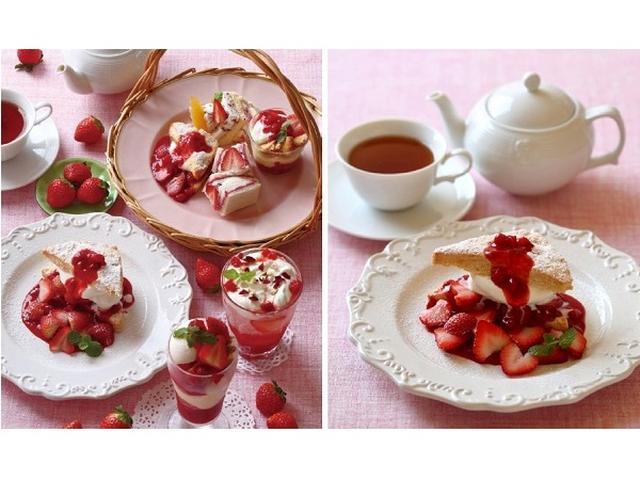 """画像: 苺三昧!イチオシはさくふわ新食感の""""苺ショートケーキ"""""""
