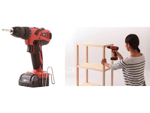 画像: DIYが楽しくなる!ハイスペック充電式電動工具シリーズ