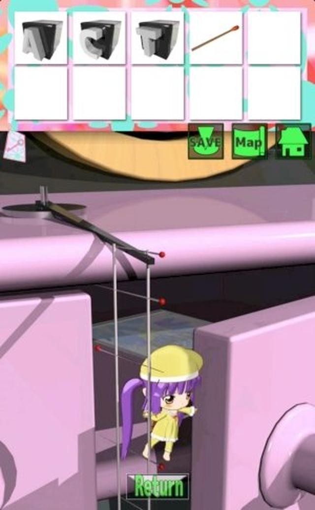 画像: ちびキャラのアクションがとってもキュート♡ 良質な謎解きが味わえる脱出ゲーム『大きな部屋と小さな私』が超オススメ!