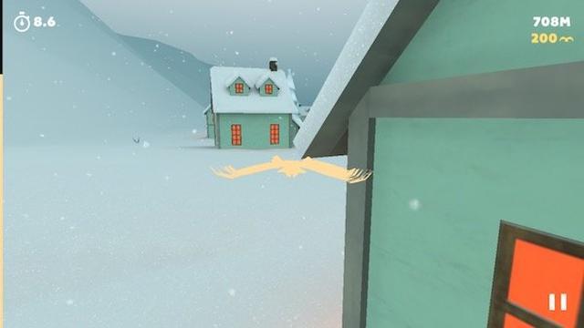 画像: 光輝く鳥となり冬の空を自由に飛び回る『ホワイトトリップ』