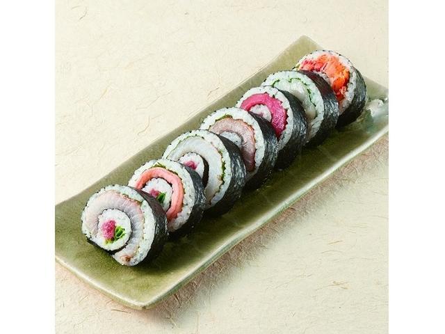 画像: 日本列島丸かぶり!?食べ進めると旬の味が変わる恵方巻