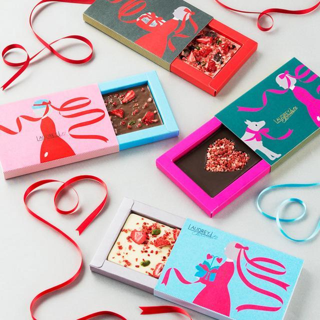 画像: LOVEが溢れる、ハートモチーフのロマンティックチョコレート。【スイーツショップ 前編】
