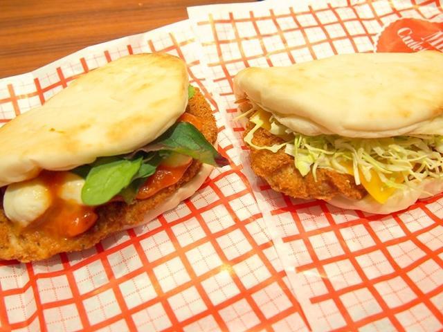 画像: 本日新発売!ファーストキッチン贅沢ミラノ風カツレツサンド2種類