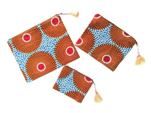 画像: 鞄の中をもっとカラフルに!ウガンダ発のトラベルグッズ