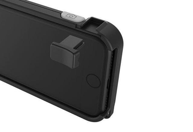 画像: iPhone 7/7 Plusをデジカメみたいに使える!横向きでシャッターを切るのが楽になるiPhoneケース『SNAP!』