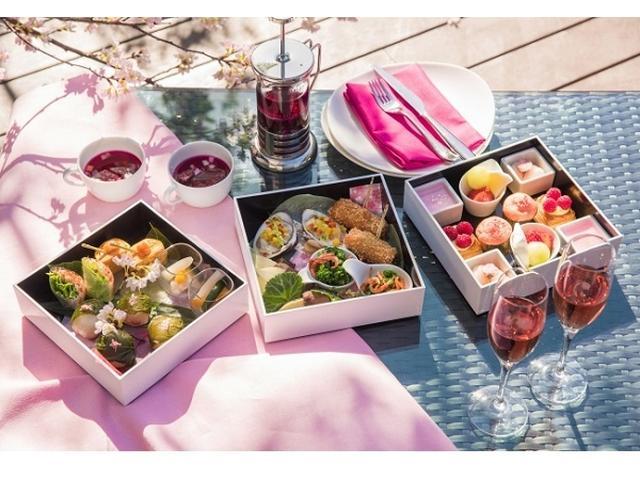 画像: 桜の季節は御殿山へ!3月1日から春のランチボックス登場