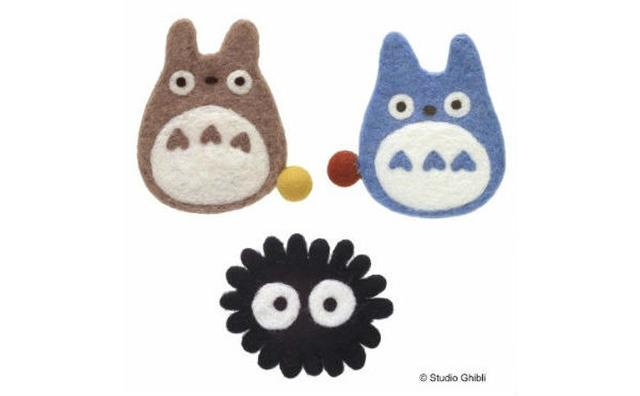 画像: 飾っておきたいキュートさ♡ジブリキャラクターの「ハンドメイド羊毛コースター」が気になる!