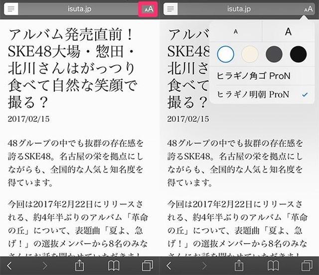 画像: Safariアプリは意外に多機能!パソコン版の画面表示、画面内の文字検索など使い方まとめ