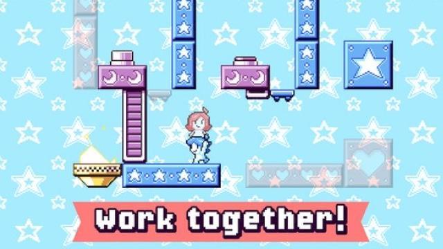 画像: 力を合わせてゴールを目指そう! 世界を切り替えて進むアクションパズル『Heart Star』が楽しくて可愛い♪
