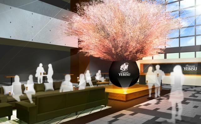 画像: 極上エビスがたったの300円!ロブションのおつまみと一緒に満開の桜をフライングゲット♡