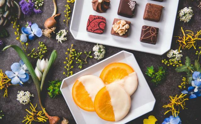 画像: オレンジ×ホワイトチョコ「デカダンス ドュ ショコラ」期間限定ショコラがオシャレ♡