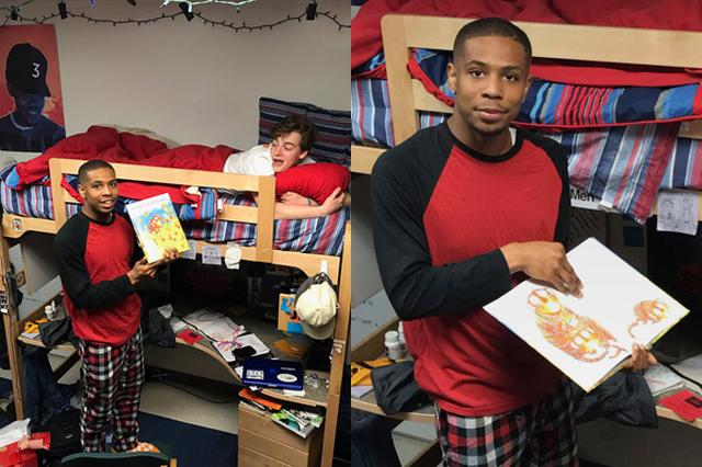 画像1: 絵本の読み聞かせは親子の絆を深めるだけではない。 大きくなった友人同士の関係を深め、安らぎを与える効果もあるようだ。 入寮時に読み聞かせをリクエスト 昨年の夏、米テネシー大学に入学したAndrew Kochambaさん(19)は、入寮に伴い寮監から、寮での生活をスペシャルなものにするために必要なことは何かと問われた。 寮監のQuamir Boddieさんから、ユーモアのセンスを感じ取ったAndrewさんは、「僕の誕生日には、あなたに絵本の読み聞かせをしてもらいたい」とリクエスト。 そして先月の23日、Andrewさんは誕生日を迎えた。 上級生は約束を果たした 半年前のリクエストなど、当のAndrewさんも忘れていたのではないか。しか [...] irorio.jp