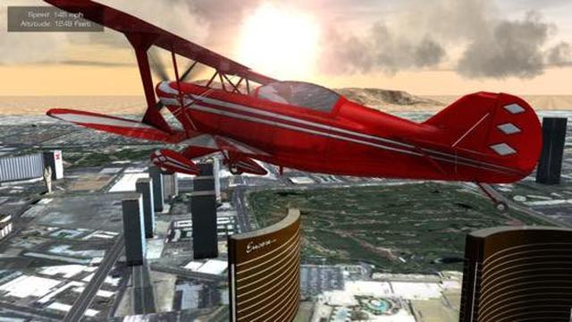 画像: 【今日の無料アプリ】240円→無料♪ラスベガスの街を空中散策!「Flight Unlimited Las Vegas」他、2本を紹介!