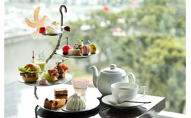 画像: 春のスイーツ女子会はここに決まり♡パレスホテル東京のアフタヌーンティーが華やか&ゴージャス
