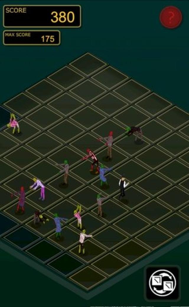 画像: ゾンビ×スネーク×マッチ3の新感覚アクションパズルアプリ『ゾンビゾゾン -zombiezozom-』