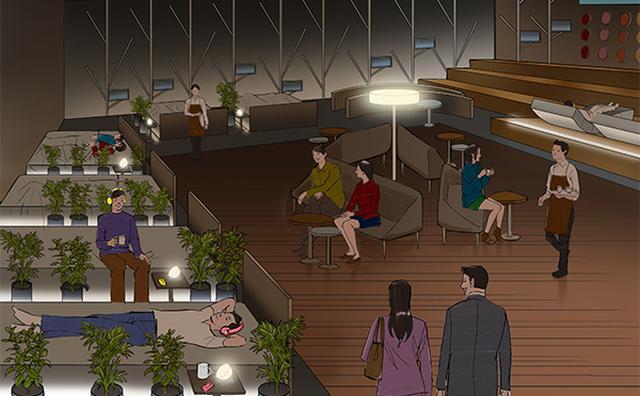 画像: お昼寝したくなったらココへ♪「ネスカフェ×フランスベッド」コラボの睡眠カフェが期間限定オープン
